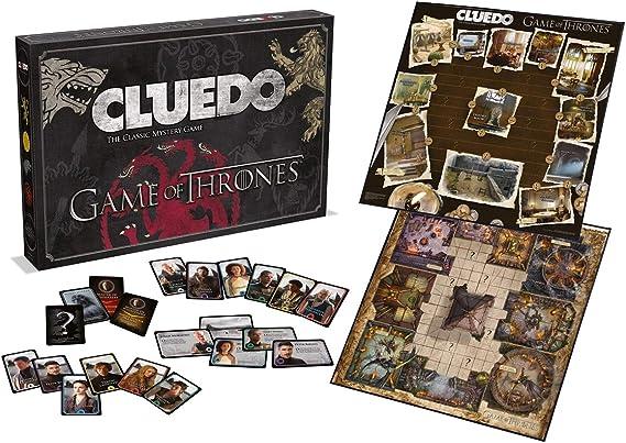 Winning Move Cluedo Mystery - Juego de Tronos, [Inglés ]: Amazon.es: Juguetes y juegos