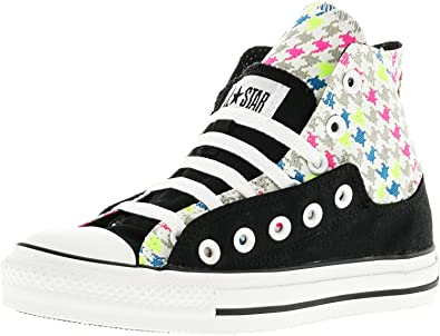 37caf6a85f11 Converse Men s Chuck Taylor Layer Up Hi Black White Ankle-High Canvas  Fashion Sneaker