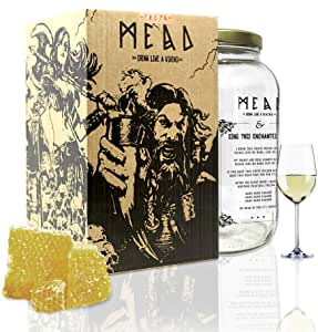My Brewery DRINK YOUR OWN BEER   Kit para fabricar Hidromiel   3,8 litros   Receta azahar   11% ALC.   Miel andaluza: Amazon.es: Hogar