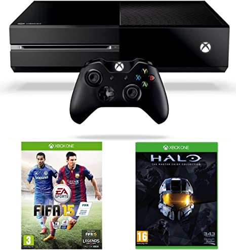 Xbox One Console Fifa 15 And Halo The Master Chief
