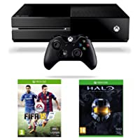 Xbox One Console, FIFA 15 and Halo: The Master Chief Collection