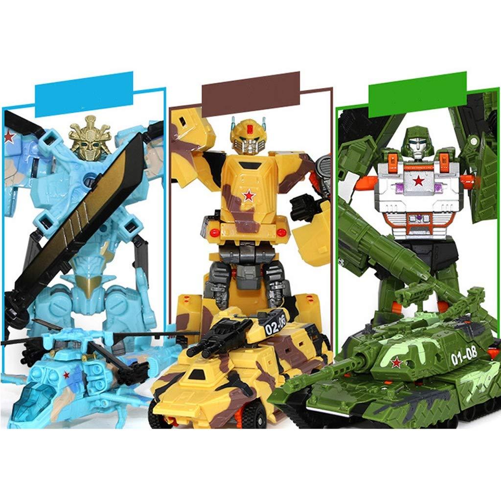Xuping Transformed Toys Transformers 5 Drei-in-Eins-Wespe Optimus Robot Model Premium Gifts (Farbe   Three-in-one suit B) B07KWK1797 Modellbau Neues Design  | Starke Hitze- und Hitzebeständigkeit
