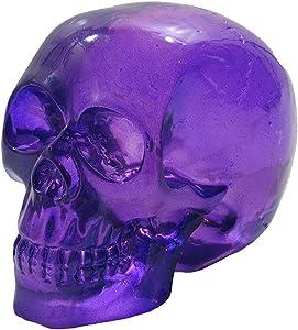 Clear Purple Skull Head Shift Knob/Decor