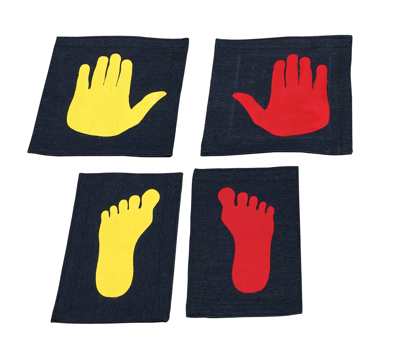 Tumbl Trak Girl's Gymnast Hands and Feet Placement Mat (5-Piece) by Tumbl Trak (Image #1)