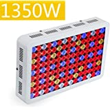 WattShine LED Grow Light 1350W High PAR Value Hydroponics System Lighting, Full Spectrum for Indoor Plants Veg and Flower Growing UV&IR Plant Lamp for Greenhouse and Indoor Plant Grow LED Panel for To