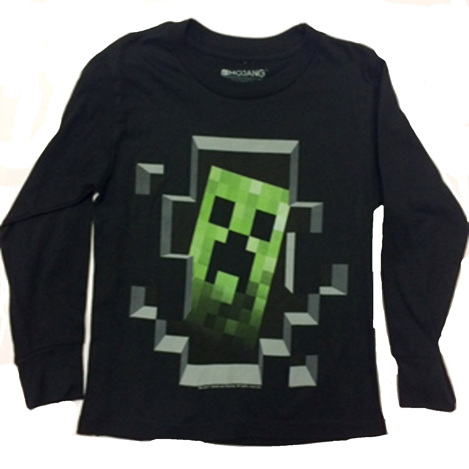 be3d45389 Top18: Minecraft Dark Creeper Kid\'s Youth T-Shirt X-Small