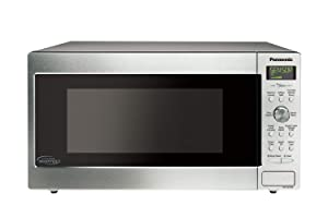 Panasonic NN-SD755S / NN-SD765S Cyclonic Wave Inverter Technology Microwave Oven, 1.6 cu. Ft, Stainless (Certified Refurbished)