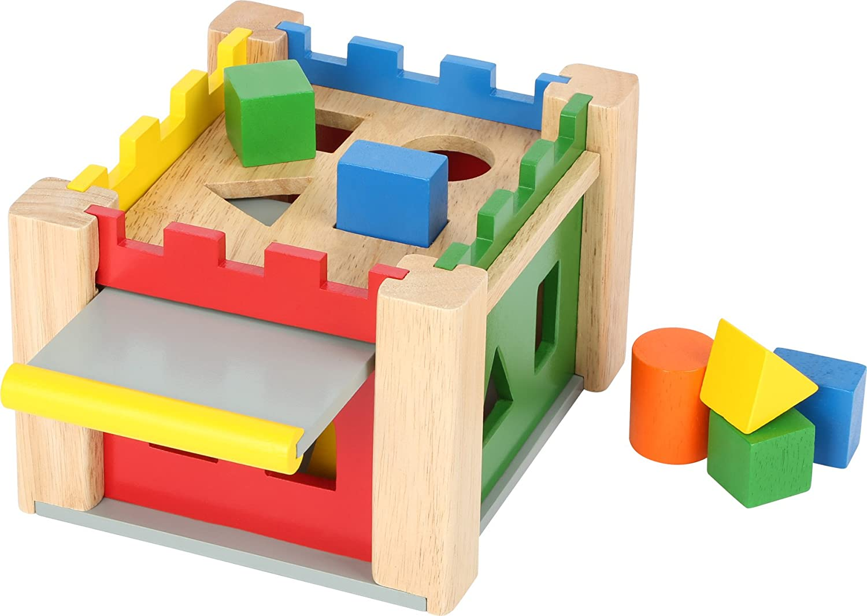 Steckschloß Steckspiel Holzspielzeug Neu! Holzspielzeug Motorikspielzeug