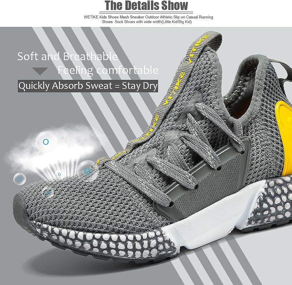 Gar/çon Fille Chaussure de Course Chaussures de Outdoor Sneakers Mode Basket Chaussure de Course Sport Walking Shoes Running Comp/étition Entra/înement Chaussure