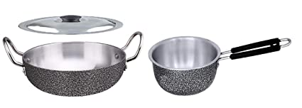1 littre Aluminium Saucepan//Tea pan Non Induction Base