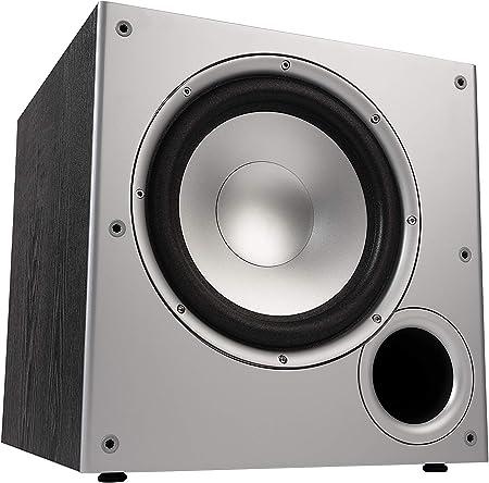 Polk Audio Psw10e Aktivsubwoofer Für Heimkino Soundsysteme Und Musik 10 Bass Box 100 Watt Audio Hifi