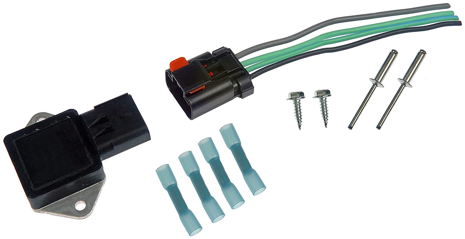 71E1Pj7MFDL._SL1500_ amazon com dorman 902 303 radiator fan relay kit automotive 2005 Dodge Caravan Wiring Diagram at readyjetset.co