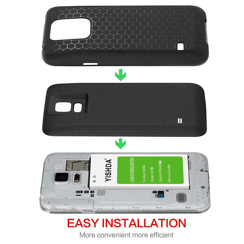 Amazon.com: Batería para Huawei P9 YISHDA Samsung Galaxy S8 ...
