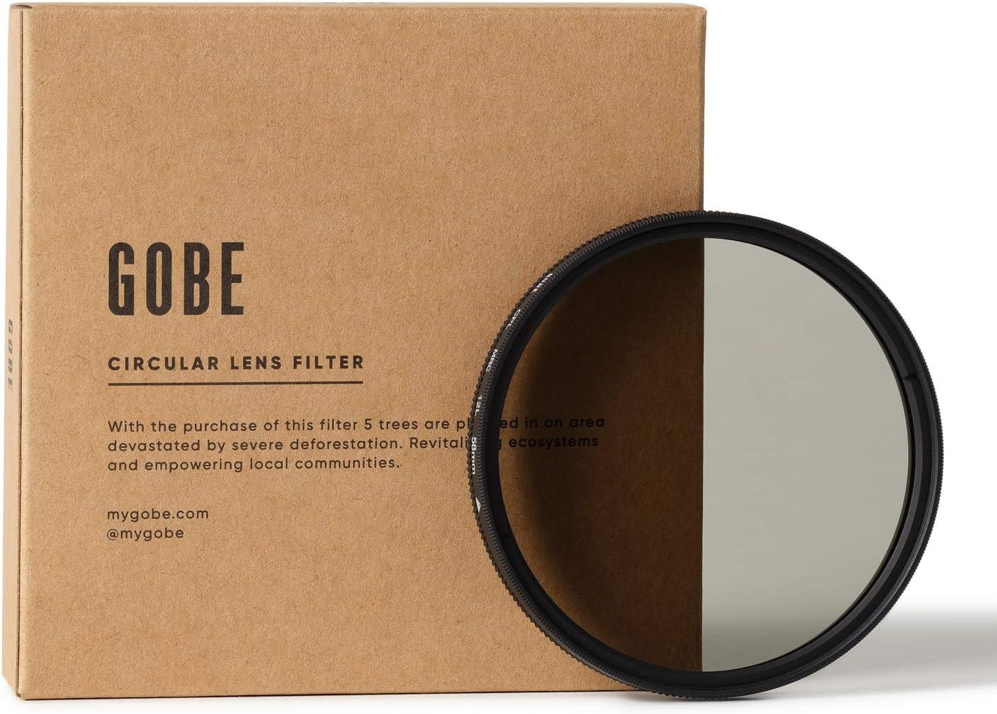 Gobe 58mm Circular Polarizing (CPL) Lens Filter (1Peak)