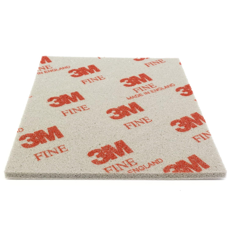3 M Soft Pad schleifpad é ponge abrasive 1 piè ce 03809 Fine Fein P320 de P400 Grain 100 DonDo 3M-Softpads-3809-1ST