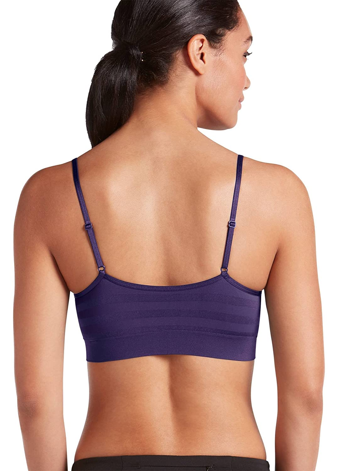 cb88a724c18dad Jockey Women s Bras Matte   Shine Seamfree Bralette at Amazon Women s  Clothing store