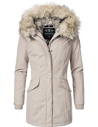 on sale ef27d 9cd36 Navahoo Damen Winterjacke Winterparka Cristal 7 Farben XS-XXL