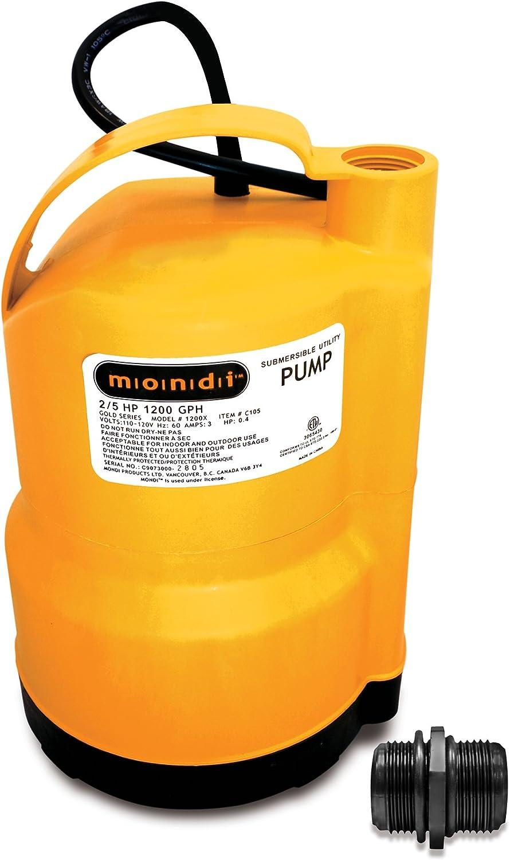 Mondi Utility /& Sump Pump 1200x 1200 GPH