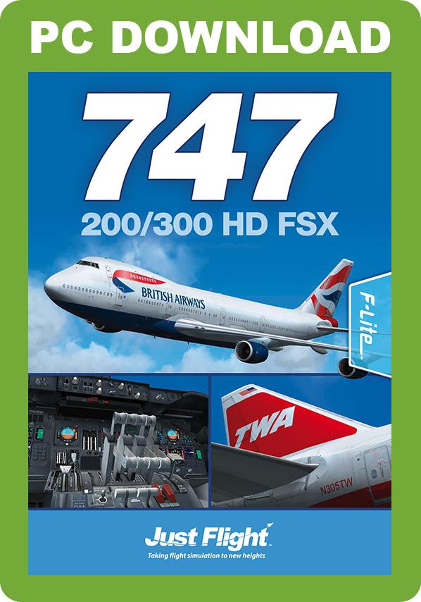 747-200/300 HD FSX [Download]