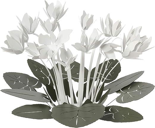 ARTI E MESTIERI - Centro de Mesa Decorativo, Verde y Blanco ...