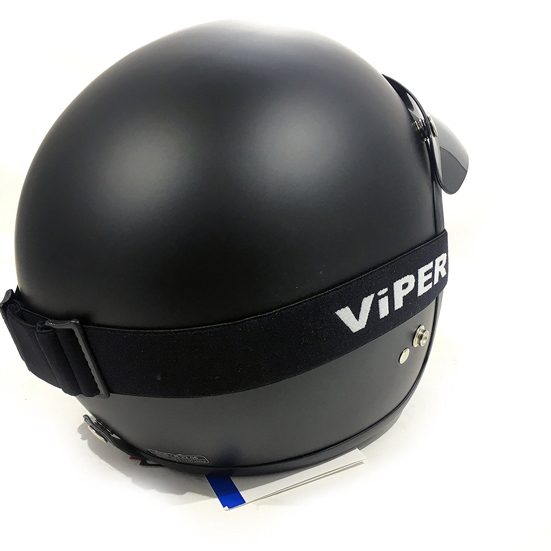 V06 /& VCAN Caschi RS-05 Viper MASCHERA RS04 Staccabile X4 Occhiali /& Maschera viso adatta per tutti i Caschi aperti Scudo maschera per Jet Casco LS2