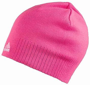78105974f7e Adidas Women s Beanie Bean Hat Pink  Amazon.co.uk  Sports   Outdoors