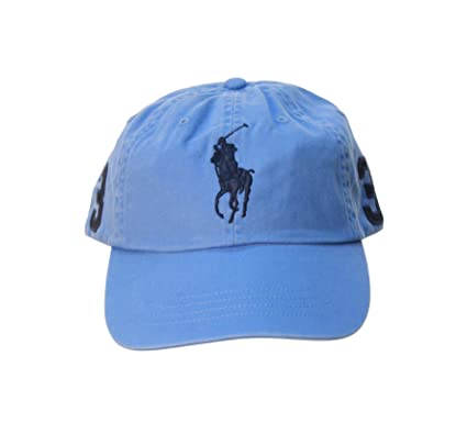 Polo Ralph Lauren Big Pony Hat (Island Blue)