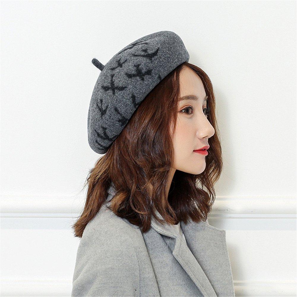 Le donne sono tutte-match femmina Cappello invernale Beret Cap allievo pittore cap,X,grigio