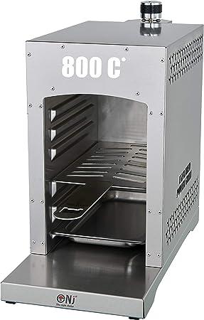 NJ - Parrilla de gas infrarroja multifuncional para camping al aire libre LPG barbacoa portátil
