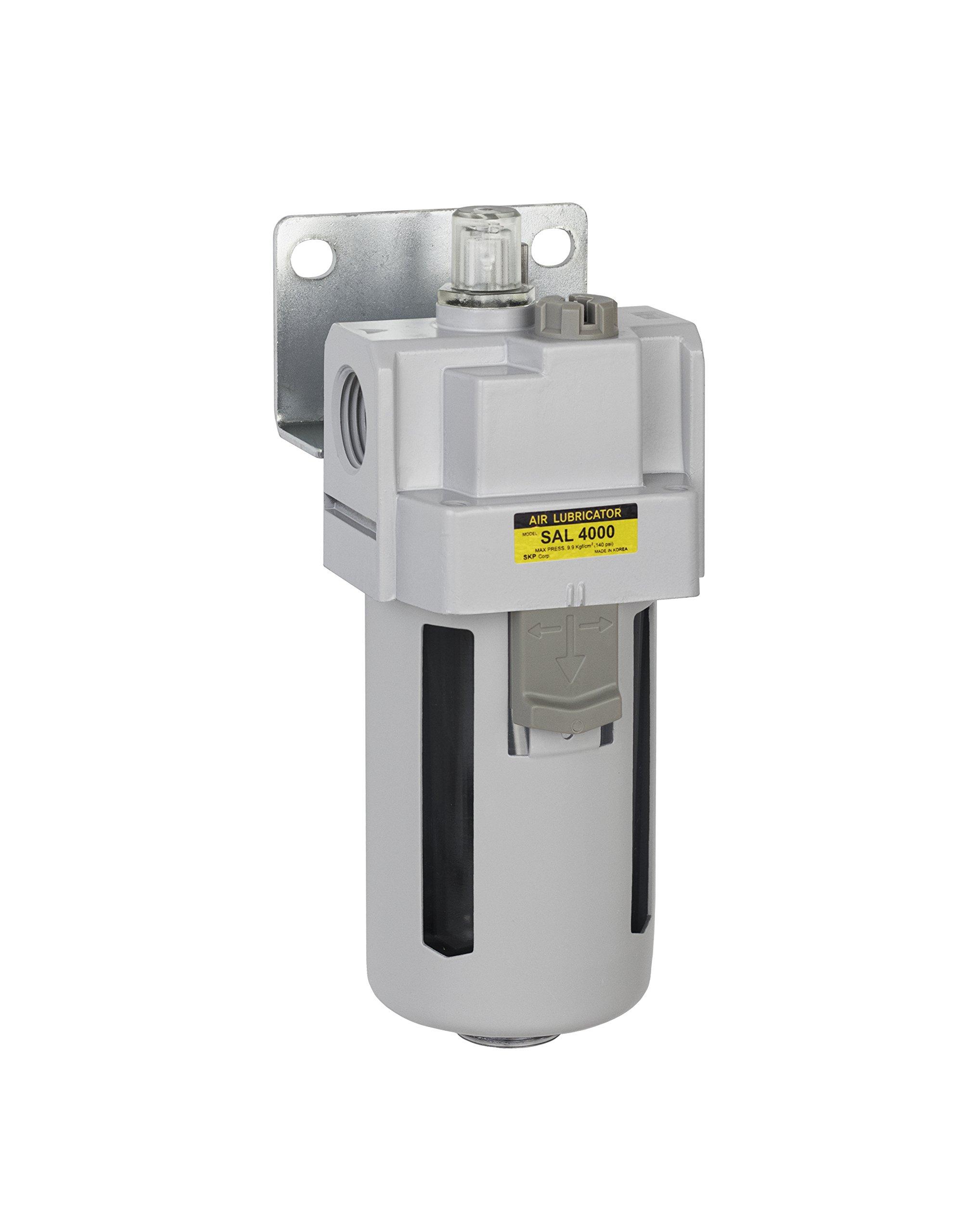 Bracket Poly Bowl PneumaticPlus SAL2000M-N02B Miniature Compressed Air Lubricator 1//4 NPT