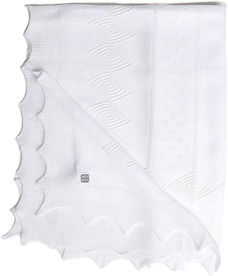 Minutus Toquilla de Dralón 105 Cm Blanca (Rouse): Amazon.es: Bebé