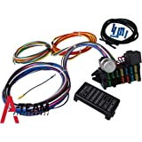 amazon com a team performance 8 circuit basic wire kit small a team performance 12 circuit universal wire harness muscle car hot rod street rod new