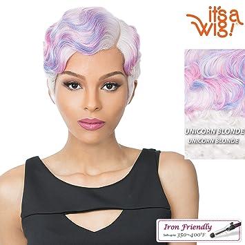 Amazon.com: Es una peluca sintética completa - NUNA ...