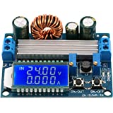 Buck Boost Converter, Yeeco Buck-Boost Board DC 12v 5.5-30V to DC 5V 24V 0.5-30V Adjustable Constant Current Voltage Step UP Down Voltage Regulator, Power Supply Module 4A 50W LCD Display