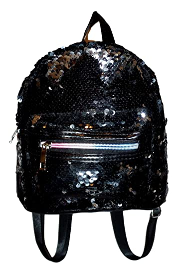 efd203418c2b Small MIni Mermaid Sequined Backpack Purse Handbag