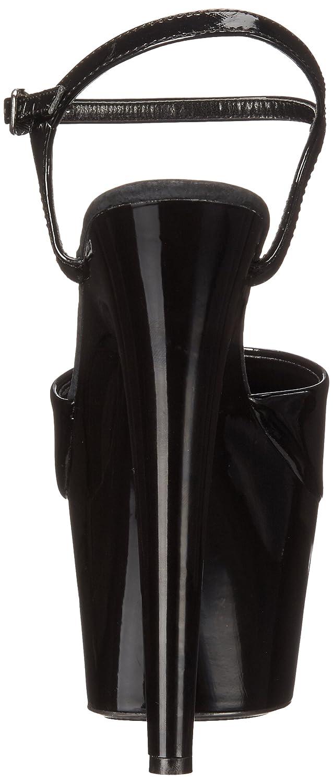 Ellie Shoes Women's 709 Juliet Platform Sandal B001N87Y0W 8 B(M) US|Black