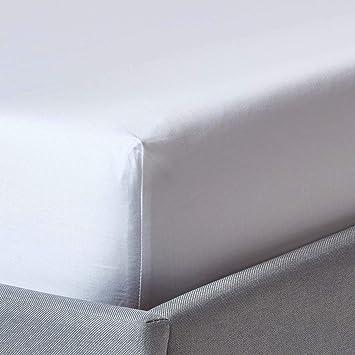Spannbettlaken hellblau  90 x 190 cm Spannbetttuch Bettlaken blau