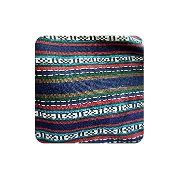 Amazon.com: Sofa Cover Fabric DIY Ethnic Bag Curtain Cotton ...