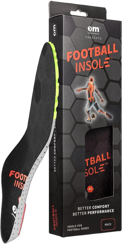 Ortho Movement Plantilla de Futbol (Football Insole) - plantillas ortopédicas y deportivas de tallas 32-47