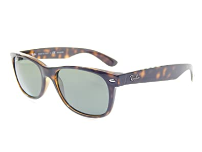 c4d4517afb8 Image Unavailable. Image not available for. Color  Ray Ban Wayfarer RB2132  902 58 Tortoise Crystal Green Polarized 55mm Sunglasses