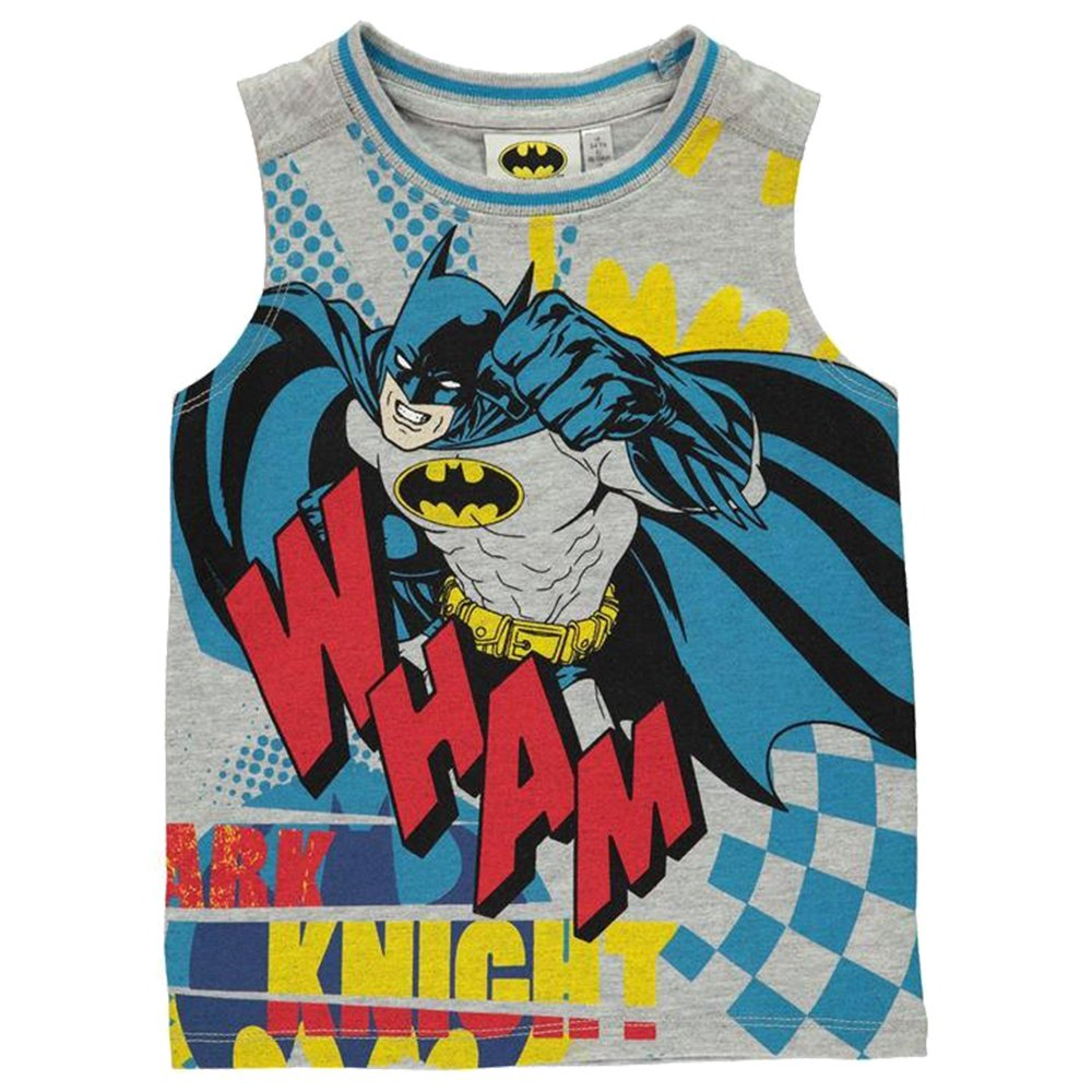 Character/  Kids Boys Large Fun Printed Sleeveless Vest Top