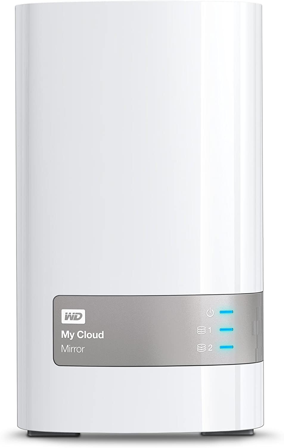 WD WDBZVM0040JWT-NESN 4TB My Cloud Mirror Personal Network Attached Storage