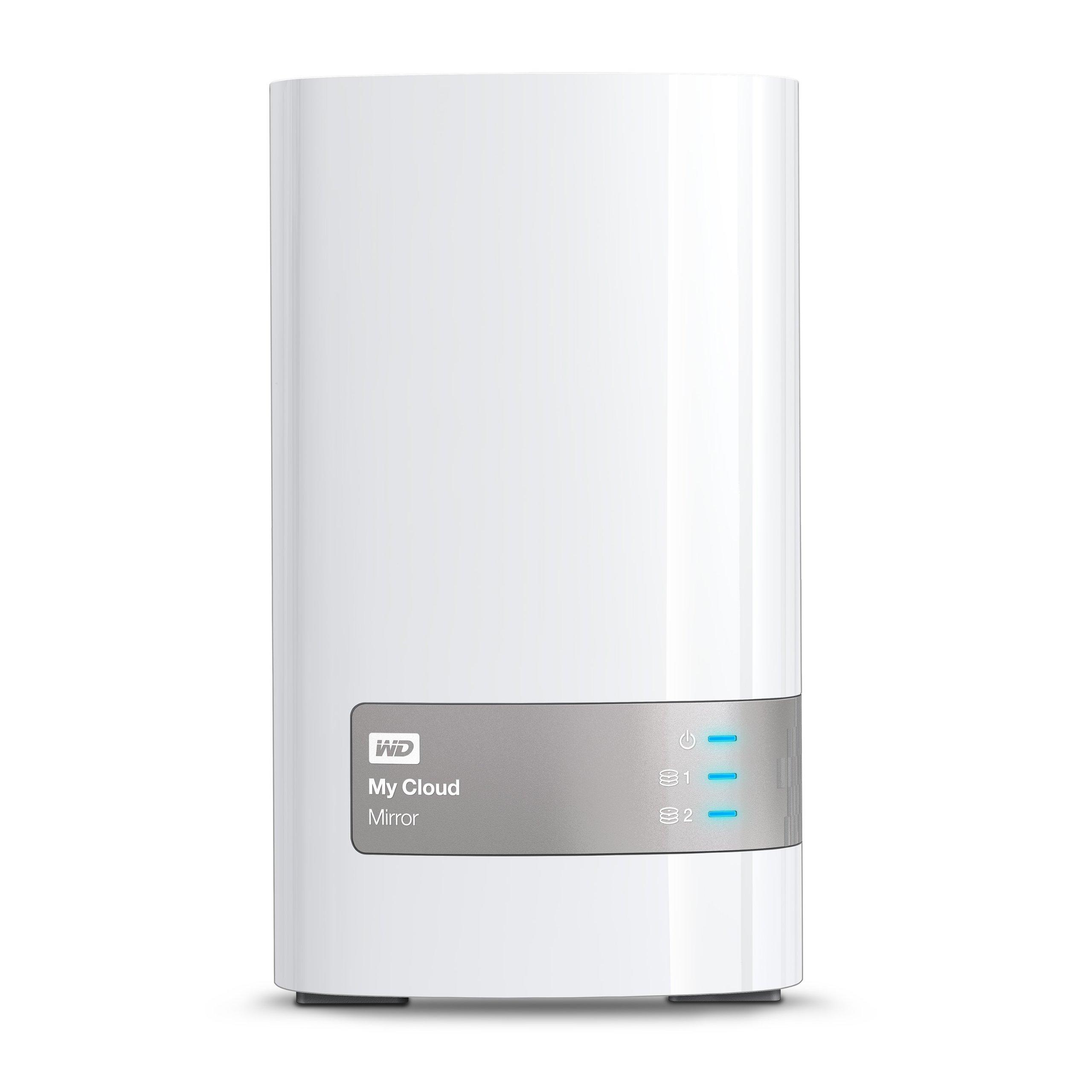 WD 16TB My Cloud Mirror Personal Network Attached Storage - NAS - WDBWVZ0160JWT-NESN