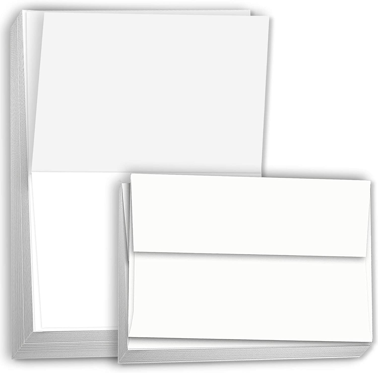 Pack of 250 A2 Folded Card 4 1//4 x 5 1//2