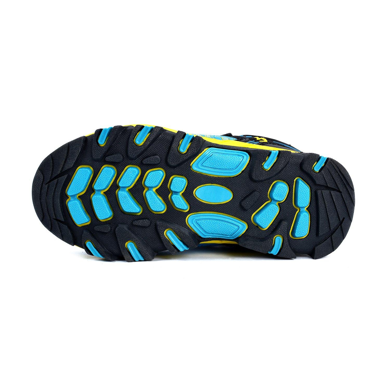MARSVOVO Boys Sneakers Waterproof Boys Running Hiking Shoes