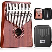 Gecko Kalimba 17 Keys Thumb Piano with Waterproof Protective Box