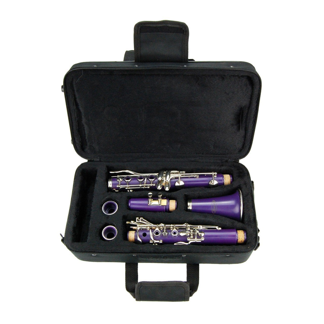 Purple ABS Clarinet for Band Students Beginners Starter Adult Teen Kids