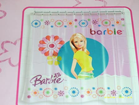 barbie shower curtain: Amazon.co.uk: Kitchen & Home