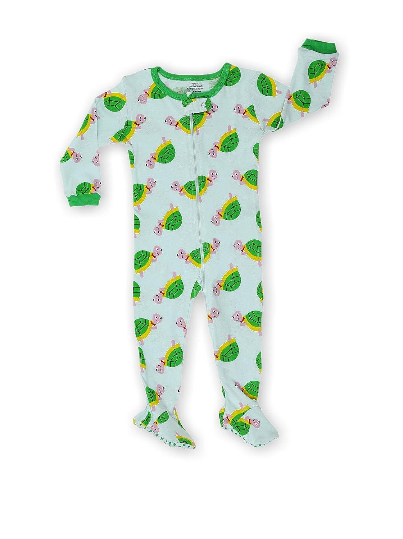 Size 6M-5Years elowel Baby Boys Footed Turtle Pyjama Sleeper 100/% Cotton