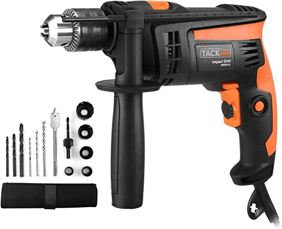 600 W Heavy Duty 13 mm Vitesse variable électrique impact marteau perforateur